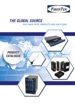 Cover page of FiberTek Product Catalogue