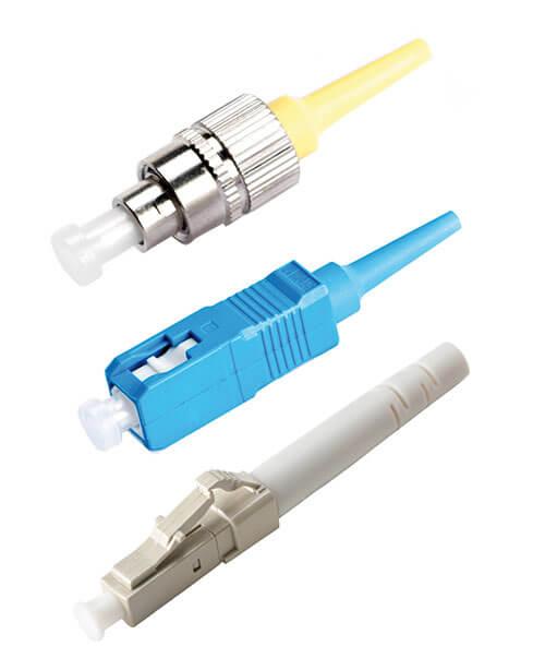 Fiber Optic Connectors - FC, SC and LC types