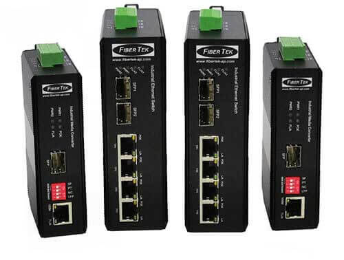 Ethernet converters with Power over Ethernet