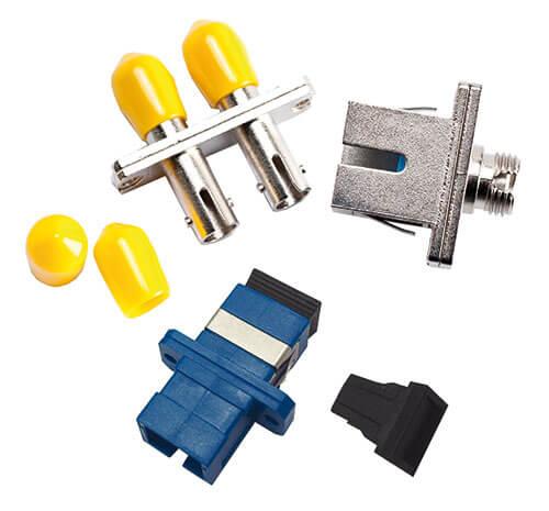 Different Fiber Optic Adapter Types