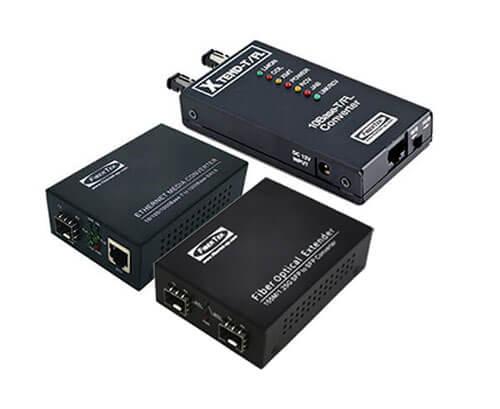 Ethernet to Fiber Media Converters