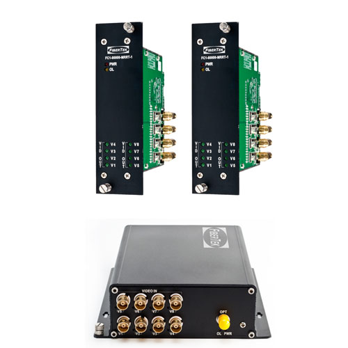 Video converters with 10 bit pcm coded transmission