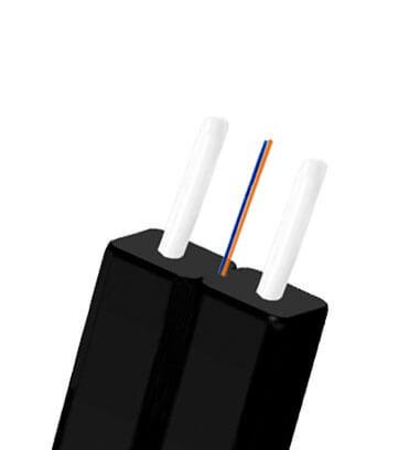 Two cores fiber optic drop cable