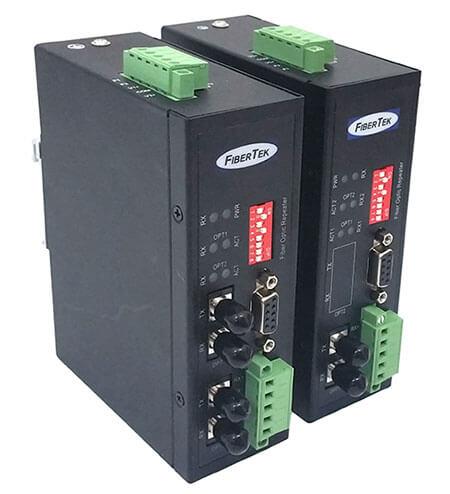 Industrial Serial to Fiber Converters