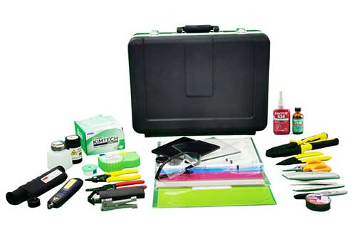 Fiber Optic Tool Box 3 with its different components