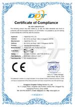CE Certificate for FCNID-8GP & FCNID-8GN under LVD directive