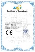 CE Certificate for FCNID 4GP & FCNID 4GN under LVD directive