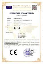 FCNCS-1EN-1ES CE Certificate of Conformity under EMC