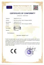 FCNCS-2SFP CE Certificate of Conformity under LVD 2014/35/EU