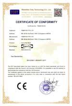 FN14-RACK-P2 CE Certificate of Conformity under LVD 2014/35/EU