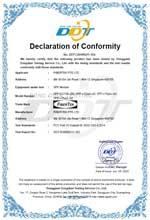 SFP-S1213L-20I-SFP FCC Declaration of Conformity