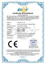 CE Certificate for FCNID 1GP & FCNID 1GN