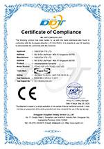 CE Certificate for FCNID 1GP & FCNID 1GN under LVD directive