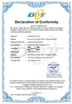FCC Declaration for FCNID-4GP-2GS & FCNID-4GN-2GS