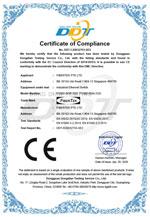 CE Certificate for FCNID-8GP & FCNID-8GN