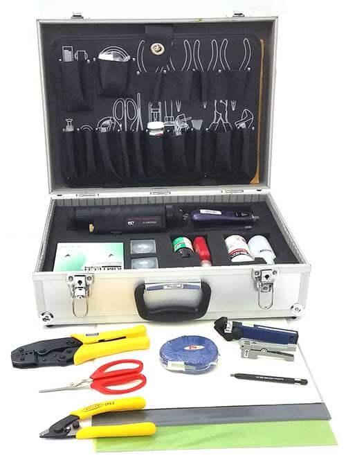 Picture of fiber optic tool box