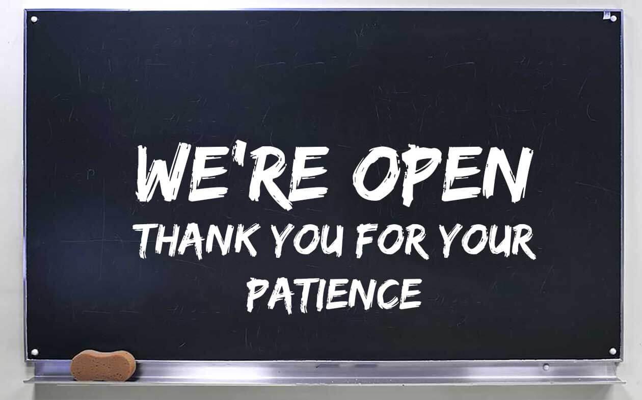 FiberTek re-opening notice