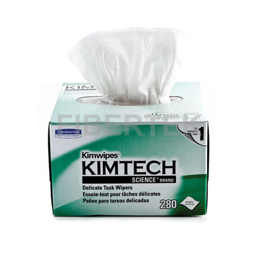 A box of Kimwipes with front view