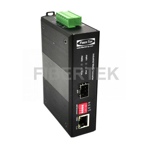 Industrial Fast Ethernet POE Converter FCNID-1EP-1ES Series