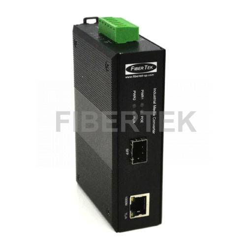 Industrial Gigabit Ethernet POE Converter FCNID-1GP-1GS Series