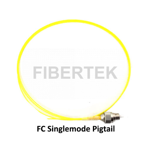 Fiber Optic Pigtail with FC Single-mode connector
